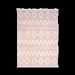 Pink Stripe vloerkleed meisjeskamer, accessoires roze meisjeskamer, prinsessenkamer, witte kinderkamer