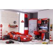 Champion Racer autokamer, inspiratie jongenskamer auto, auto kinderkamer inspiratie autobed, accessoires autokamer