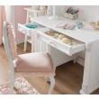 Romantic bureau meisjes bureau wit, meisjeskamer compleet, inspiratie kinderkamer
