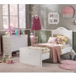romantic babybed peuterbed kast