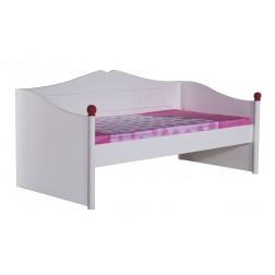 Cindy bedbank  Sofa | Wit  200 x 90 cm