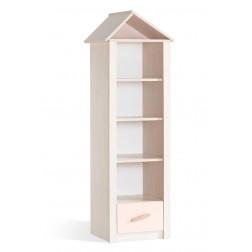 Cento Pink boekenkast kast huisje meisjeskamer