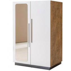 Compact 2 deurs kledingkast kinderkast kinderkamer