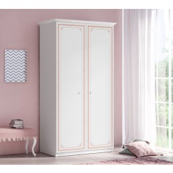 Emily Pink 2-deurs kledingkast meisjeskamer kinderkamer