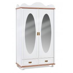 Capri 2 deurs kledingkast kinderkamer