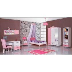 Prinsessenkamer roze   3 delige aanbiedingsset