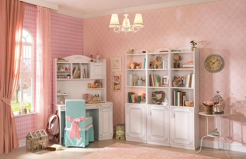 Emily_meisjeskamer_prinsessenkamer_boekenkast_bureau_kinderbureau