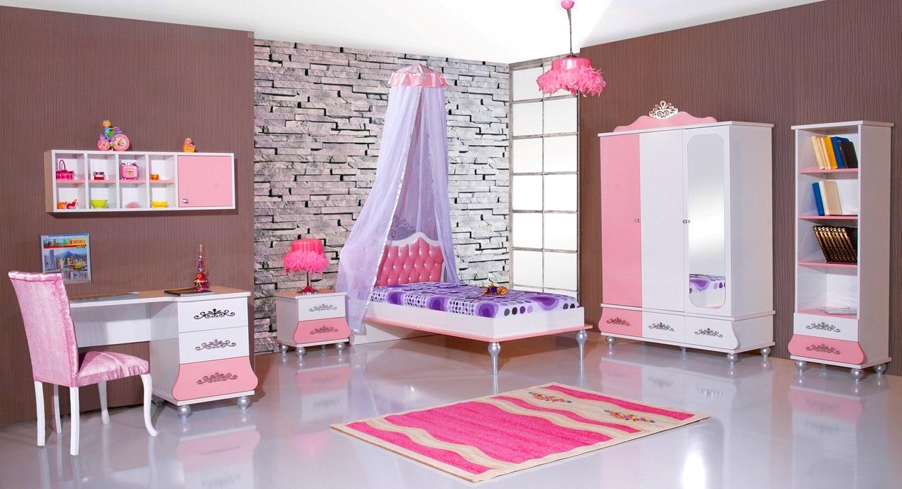 Prinses kinderkamer meisjeskamer roze kinderkamer kinderbed terrashaard en barbecues - Roze kinderkamer ...